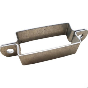 Abrazadera Poste Señal 80×40 Doble Con Tllos.