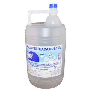 Agua Destilada 5 Lt.