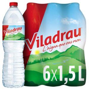Agua 1.5 Lts Botella Viladrau Palet 504 Bot