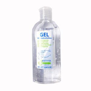 Gel Desinfectante Manos Hidro Alcohólico Botella 100ml Cvt