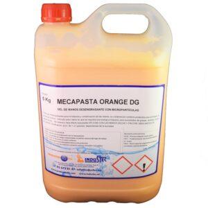 Jabón Mecapast Orange Dg Garrafa De 5 Lt