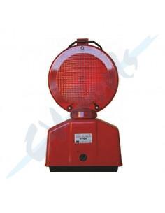 Baliza Intermitente 2 Caras Luz Roja Fija Intermitente Ref 1036