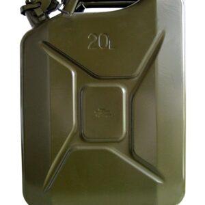Bidón Chapa 20 l s/Boquilla jc-20 Hom. Transporte Gasoil