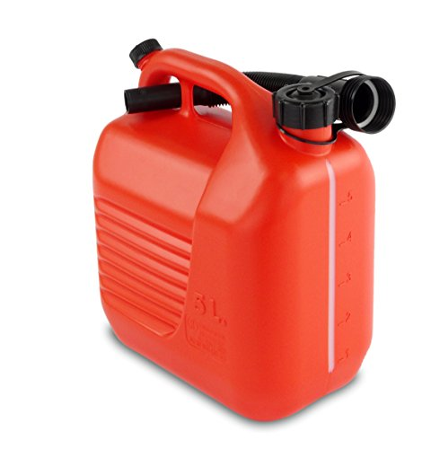 Bidon Plastico 20 lt Homologado Transporte Combustible Con Canula Bott