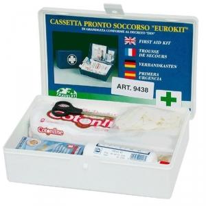 Botiquín Primeros Auxilios Automóvil Completo 9438