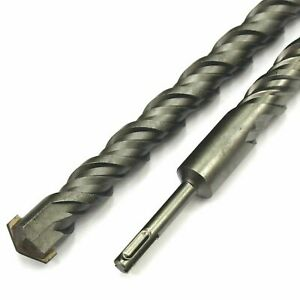 Broca sds-Plus 22mm 450mm Total 400mm Útil Trijet y Cutter Hormigón Armado Heller
