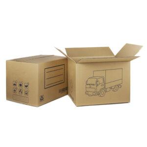 Caja Cartón Mudanzas 400x300x300