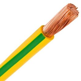 Cable Flexible 16 Amarillo / Verde