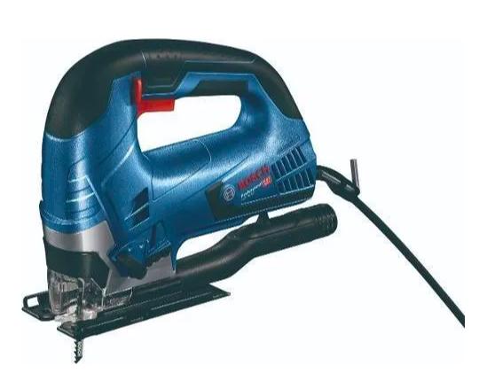 Caladora Bosch Gst90 Be 650wt Prof + 25 Hojas Sierra + Maletín