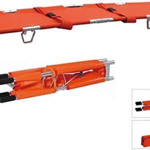 Camilla Rescate Plegable 500×2070 dx018 Lona Con Correas Tubo Aluminio 10kg