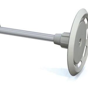 Clavo Acero C8 37mm Arandela Plástico 35mm