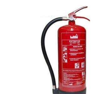 Extintor Polvo 6kg Abc Polivalente Con Plaquita Soporte