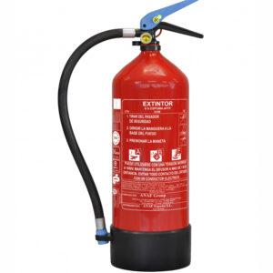 Extintor Base Agua Espumofero Afff 6 Kg Con Plaquita Soporte