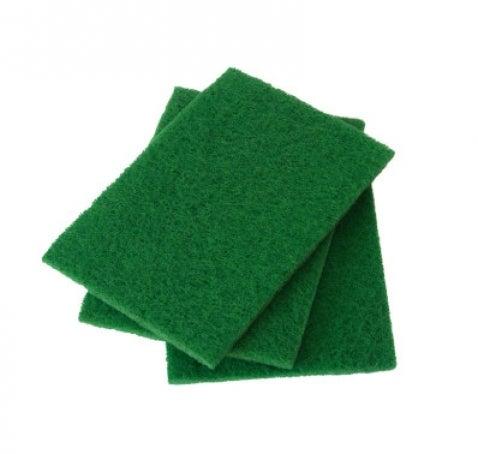 Estropajo Fibra Verde Pack 3