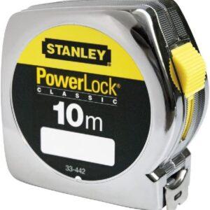 Flexómetro 10mts 25mm Powerlock 33442 Stanley