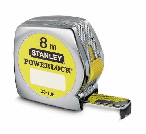 Flexometro 8mts 25mm Powerlock 33198 Stanley