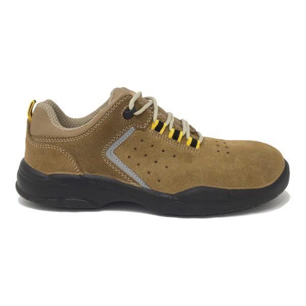 Zapato Seguridad 3191 New Jimmy Plus Serraje Free Metal S1p