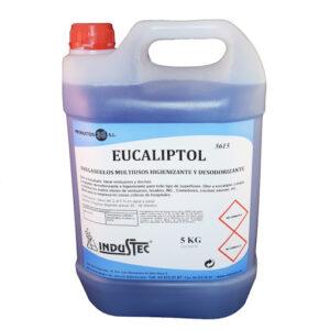 Limpiador Multiuso Para Superficies, Higienizante, Desodorizante Eucaliptol 5615 Garrafa 5Lt