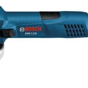Mini Amoladora Bosch Gws7 115 700w Profesional Prot. Rearranque