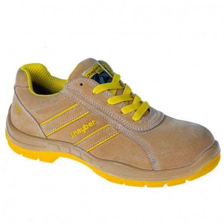 Zapato Seguridad Jhayber Goal 2 Marrón Puntera Composite Y Plantilla S1