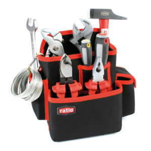 Bolso Porta Herramientas Multi Bolsillo 6 Compartimentos Sin Cinturón 5054 h4 Ratio
