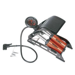 Bomba IInflado Manómetro Presión 7 Bar Pedal Antideslizante Ratio