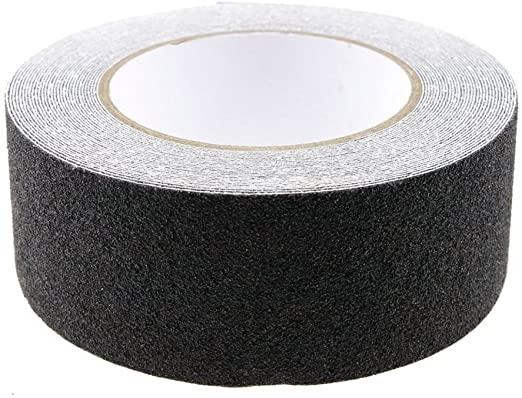 Cinta Antideslizante Adhesiva Negra 50mmx15m
