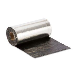 Cinta Asfáltica Autoadhesiva Selfdan Rollo 30cmx10mts Aluminio Natural (m/l)