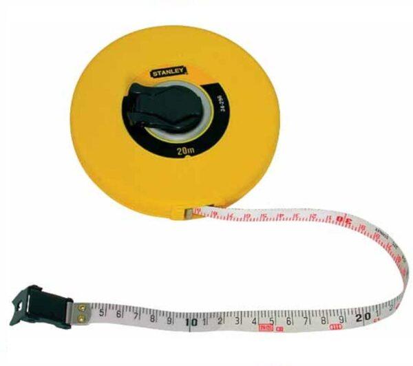 cinta metrica fibra vidrio 30mts longtape stanley