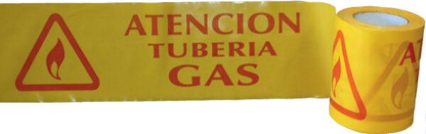 cinta senalizacion gas