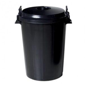 Cubo Basura PVC Industrial 100 l c/Tapa