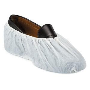 Cubre zapatos Desechable Blancos Patucos Visita Obra Caja 100 pc