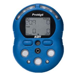 Detector De Gas Protege Scott 4 Gases Lie/o2/co/h2s Bat.Recargable
