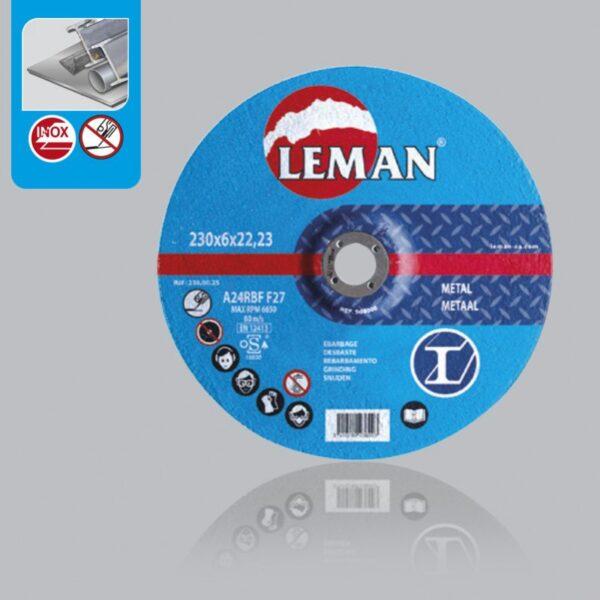 Disco Corte Acero 230×1.8 a30 sbf f41 c/Plano Classic Azul Leman 2310025