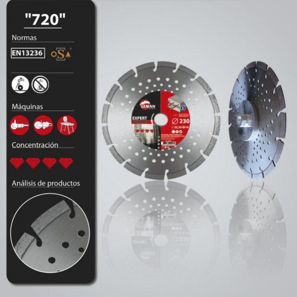 disco diamante 720