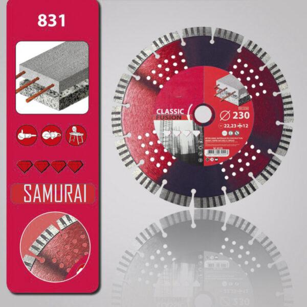 disco diamante 831 samurai