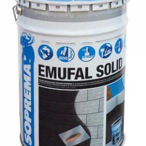 Emulsión Asfáltica Bituminosa emufal solid 25 kg