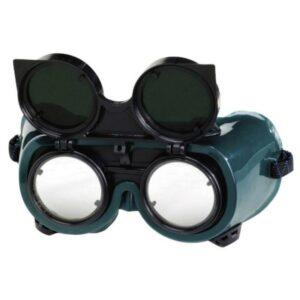 Gafa Protección Soldar Esmerilar. Amplivision Suj.Goma Vent.ind. Ocular Abatible 50mm