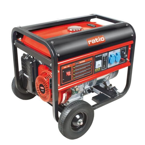 Grupo Electrógeno 5.0Kva Rg6500 Motor 4 Tiempos. 389cm³. 13 Hp. Monofásico 220V. Avr + Voltímetro