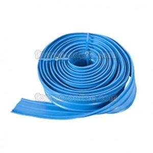 Junta Estanqueidad Supercast PVC H190 Con Bulbo Central Rollo 15mts Azul (M/L)