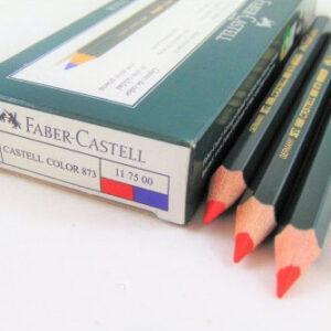 Lápiz Carpintero Bicolor Azul/Rojo Caja 12uds Faber 873