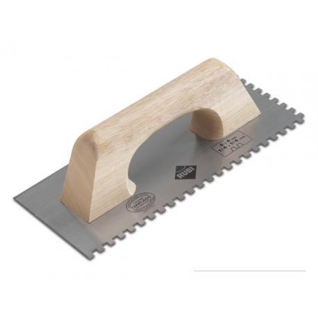 llana dentada rubi madera