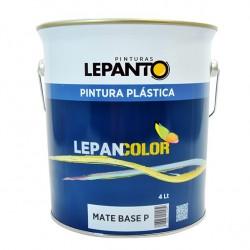 Pintura Lepancolor Exterior Gris Cemento Bidon 15L. 25kg *