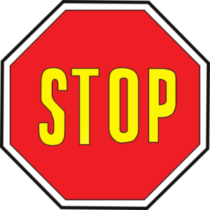 Señal Octogonal Tr2 50cm Stop Plano Obra Económica