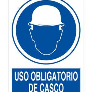 Señal Pvc 297×420 nº101 Din A3 Obligatorio Uso Casco