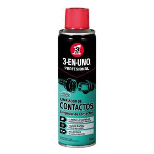 Spray Lubricante Dieléctrico Prof. 250ml. Limp. Aceites, Grasas, Oxido, Esp. Circ. Eléctricos