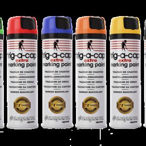 Spray Topógrafo Trig-A-Cap Extra 360º 500ml Colores