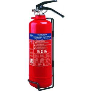 Extintor Polvo 1kg Abc Polivalente Homologado Con Manómetro