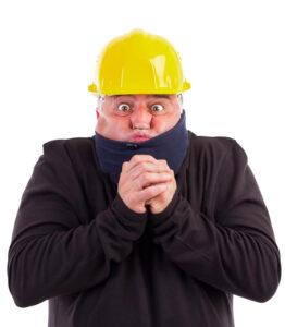 retrato de un frio sufridor del trabajador 27092013 1