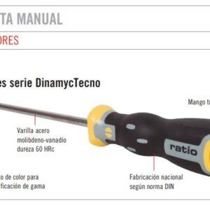 Destornilladores serie DinamycTecno